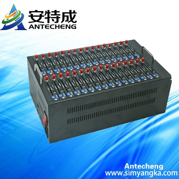 Wavecom Gsm gprs Modem 32 Port Gsm Modem Bulk Sending Sms Q2406