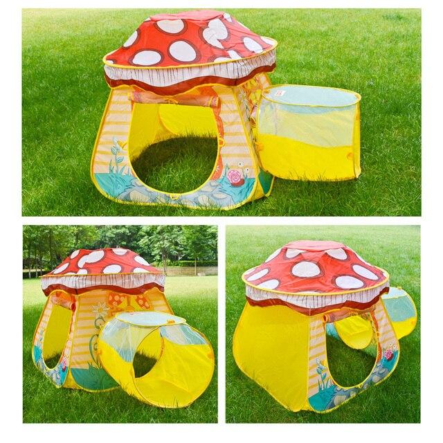Outdoor Indoor Kids Toy Folding Play Tent Game Toy Children Activity Blue Pink Yellow Mushroom House  sc 1 st  AliExpress.com & Outdoor Indoor Kids Toy Folding Play Tent Game Toy Children ...