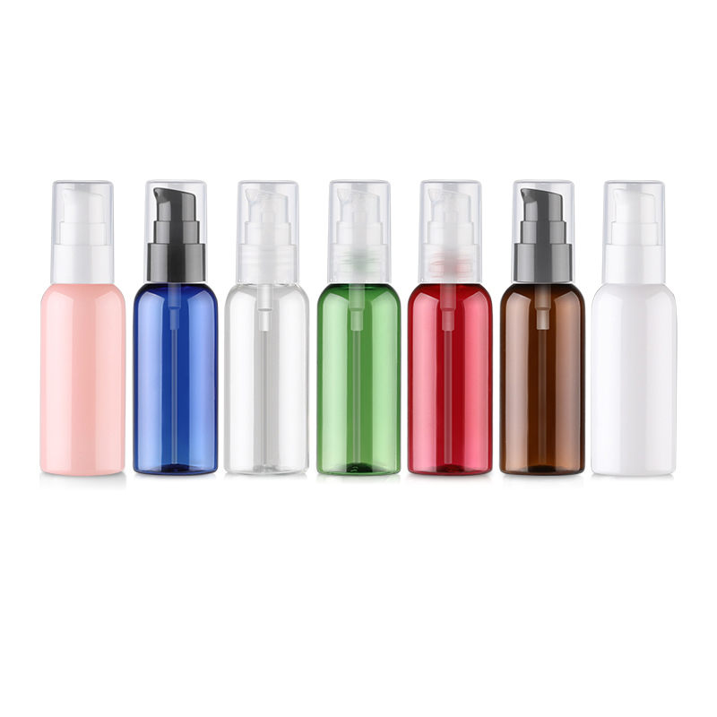 BEAUTY MISSION 48 pcs Lot Plastic 50ml High grade Lotion Bottles with Pump Women Cosmetic Container