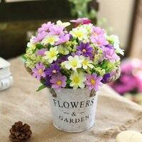 YıLDıZ ÇIÇEK gerçek dokunmatik yapraklar ile yapay orkide çiçek set yapay bitkiler genel çiçek düğün 04015 için