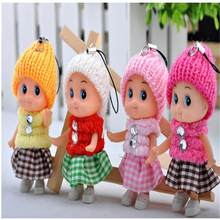 1PCS NEW Kids Toys Soft Interactive Baby Dolls Toy Mini Doll For girls and boys Drop Shipping(China)