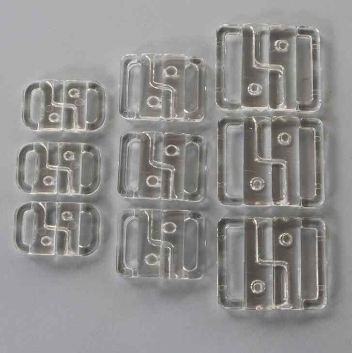 10 Paar 14mm  BH Clip Kunststoff Bikini Bademode Schnalle  Gurtverschluss