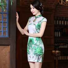 Jin'e 2016 New Pattern Cheongsam And Winter Daily Improvement Suzhou Cheongsam Dress Woman Manufactor Wholesale Direct Selling