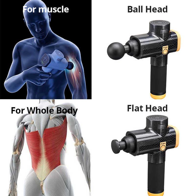 منخفضة الضوضاء العضلات تدليك بندقية العلاج الأنسجة العميقة مع 4 رؤساء التدليك 3 مستويات سرعة لتخفيف الآلام الاسترخاء مع إيفا صندوق سفر