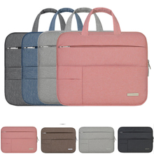 Laptop bag for Macbook air 11 12 13 Xiaomi mi air 12.5 13.3 Handbag Women Laptop Sleeve Bags Unisex Case Zipper Soild