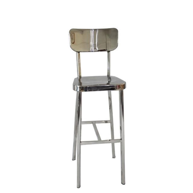 Moderno semplice personalità bar sedia schienale alto sedia bar ...