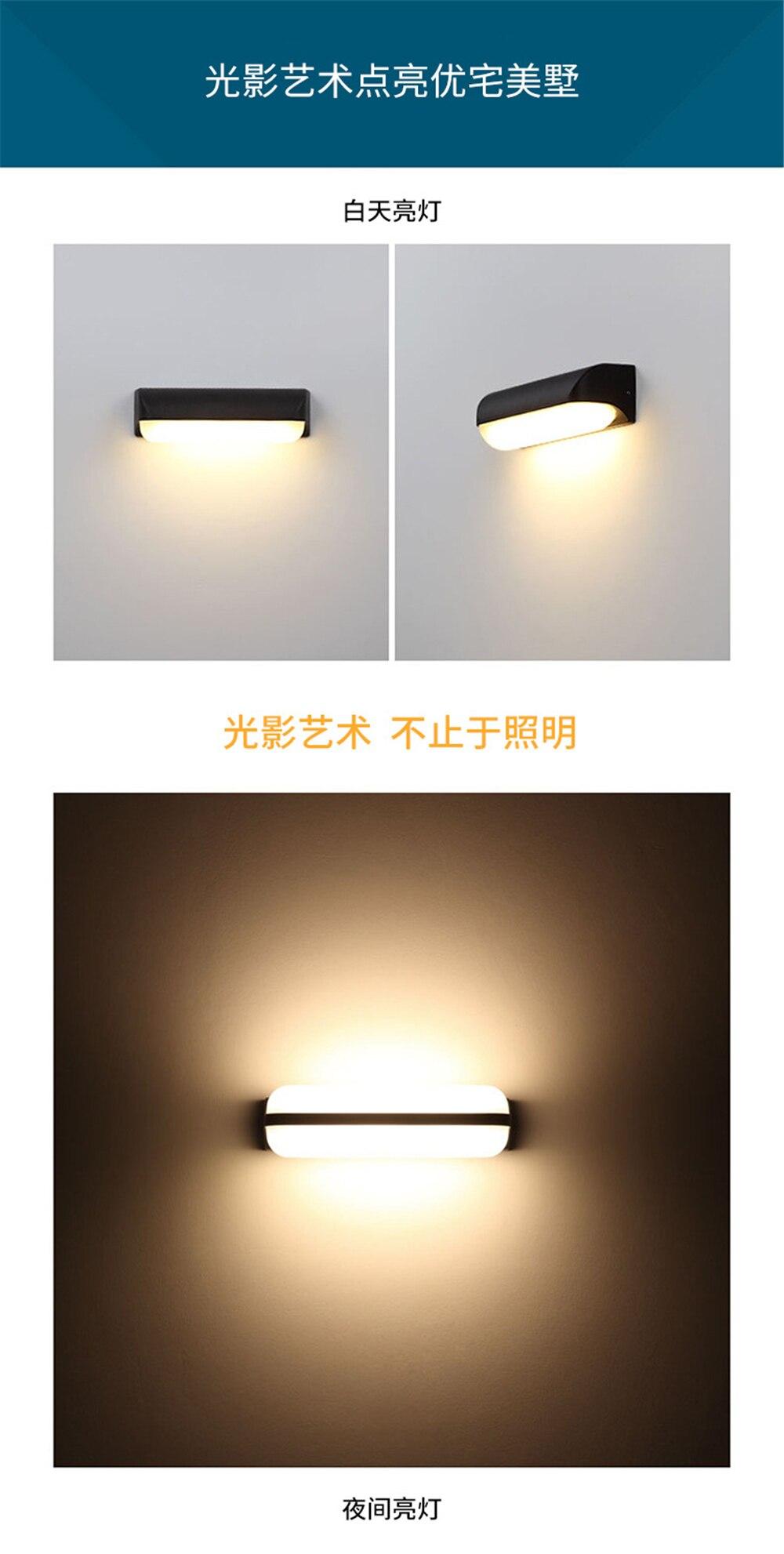 A luz impermeável 12 w 7 w