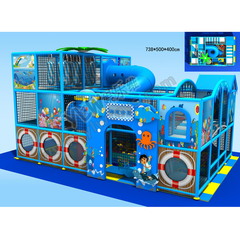 nuevos nios laberinto playground zona de juegos interior de