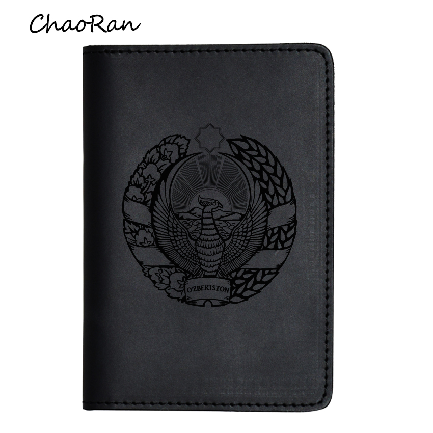 Cat Scratch Pad Leather Passport Holder Cover Case Blocking Travel Wallet