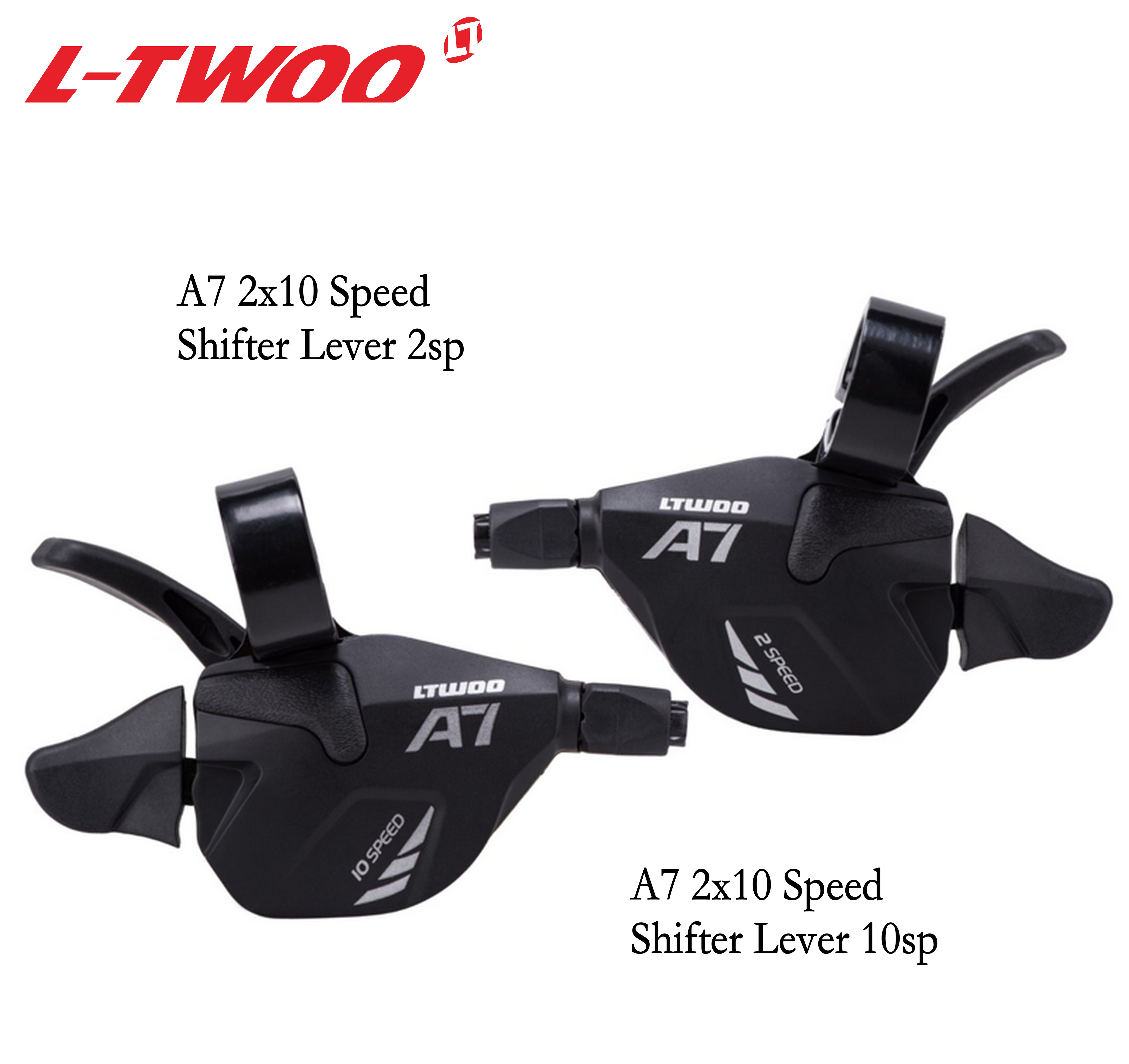 LTWOO A7 LTWOO Groupset <font><b>2X10</b></font> 3X10 Speed 30S 20S Trigger Shifter Lever for MTB Mountain bike Cassette 1146T/50T, X9X7 spare parts image