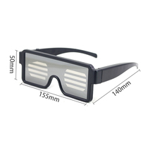Luminous glasses manual