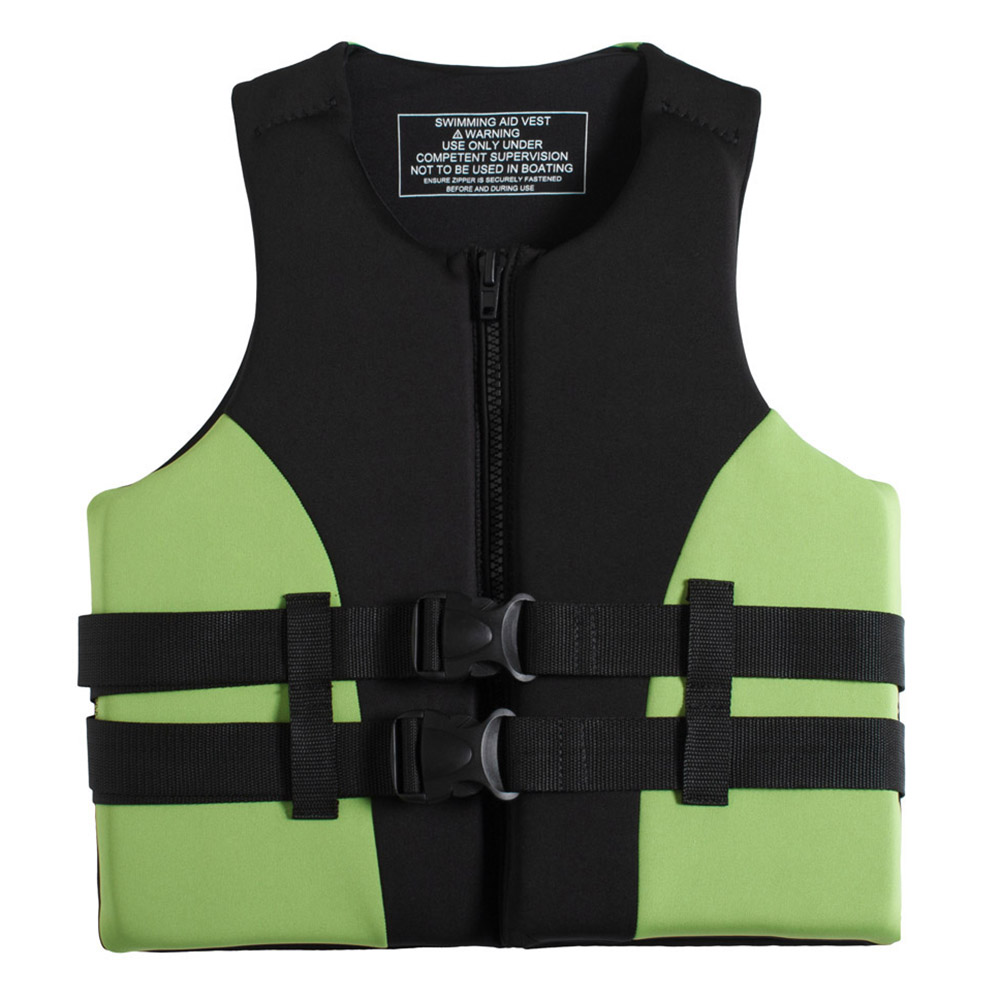 Image 2 - Neoprene Fishing Life Jacket Watersports Kayaking Boating Drifting Safety Life Vest Water Sports Safety Man Jacket XXL Size-in Fishing Vests from Sports & Entertainment
