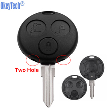 Case Car-Key-Cover Forfour-Shell Remote Smart Mercedes-Benz Uncut-Blade 3-Buttons Okeytech