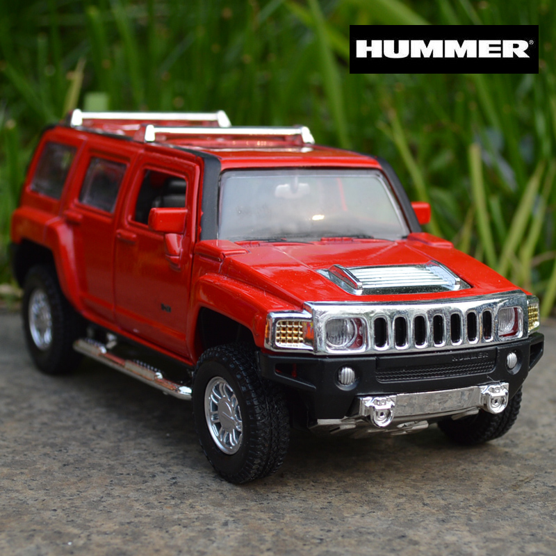 CAIPO Car Models 1:32 HUMMER H3 Alloy Diecast Car Model Toy s