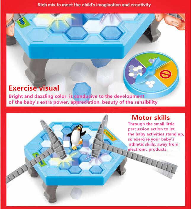 Интерактивные изделия для крошения льда Настольный Пингвин ловушка детская забавная игра Пингвин ловушка активировать развлекательные игрушки игра для всей семьи