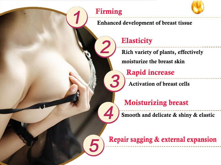 Breast Enhancement Compound Essential Oil for Increase Breast Tightening Massage Oil 30ml 11