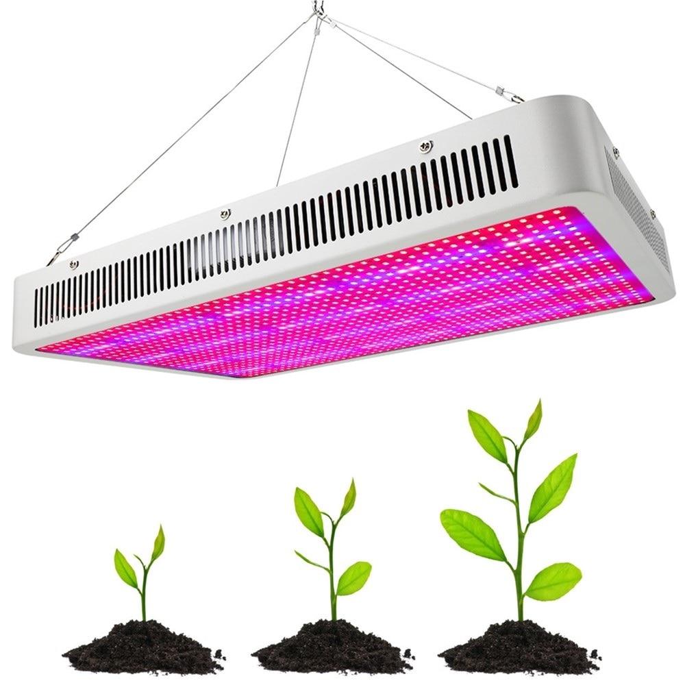 1600 w 1200 w 800 w 400 w 200 w Full Spectrum LED Élèvent La Lumière Pour La Culture Hydroponique À Effet de Serre Plante D'intérieur fleur Légumes Herbes