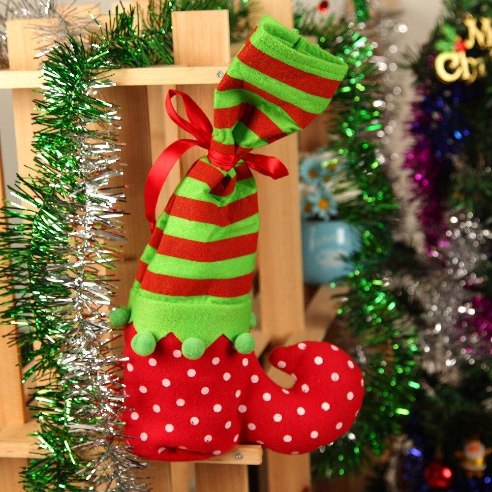 Santa Claus Elf Shoe Candy
