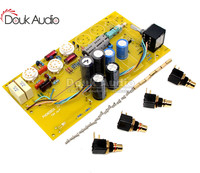 Orelha de alta fidelidade mm phono pré amplificador tubo de vinil fonobox montado placa|Amplificador| |  -