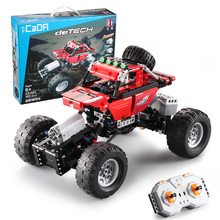 489pcs Building Blocks Remote Control RC Car The Ultimate All Terrain Off-Road Trucks Compatible Technic Bricks Toy For Children lepin20032 technic off road motorcycles r1200 gs model building blocks blick toy for children kids gift compatible legoing 42063