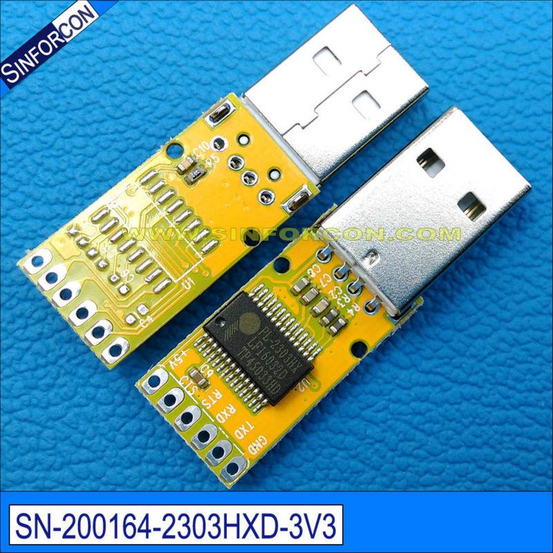 pl2303hxd usb seriële uart ttl-kabel met 0.1 du pont female socket - Computer kabels en connectoren - Foto 4
