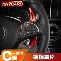 4 colors Car Steering Wheel Paddle Shift Paddle Shifters for Mercedes C E Class W205 W213 GLC C180 C200 C260 E200 E300