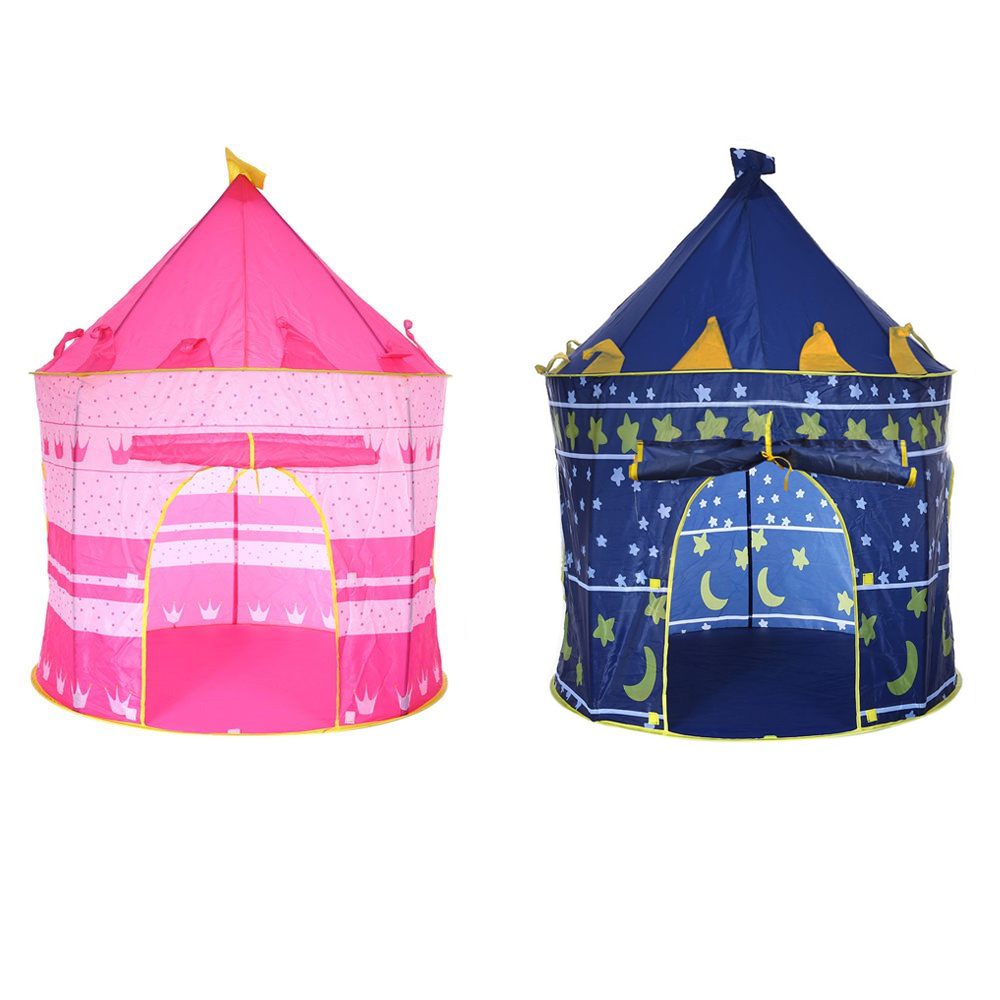 Foldable Play Tent Portable Folding Tipi Prince Toys Tent Children Castle Cubby Play House Indoor Outdoor Toy Tents Kids GiftsFoldable Play Tent Portable Folding Tipi Prince Toys Tent Children Castle Cubby Play House Indoor Outdoor Toy Tents Kids Gifts