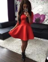 2017 New Women Ladies Long Sleeve O-Neck Sexy Solid Winter Dress Black Gray Red vestido de festa