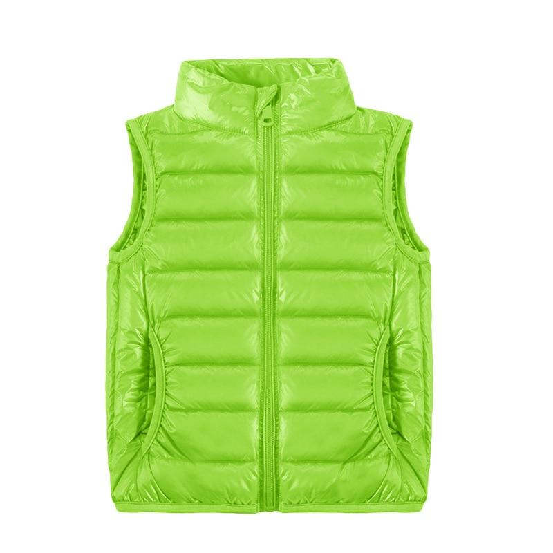 Image 3 - 2019 New Children Vests Winter Ultra Light White Duck Down Vest Coats Boys Girls Sleeveless Jacket Kids Windproof Warm Waistcoat-in Vests from Mother & Kids