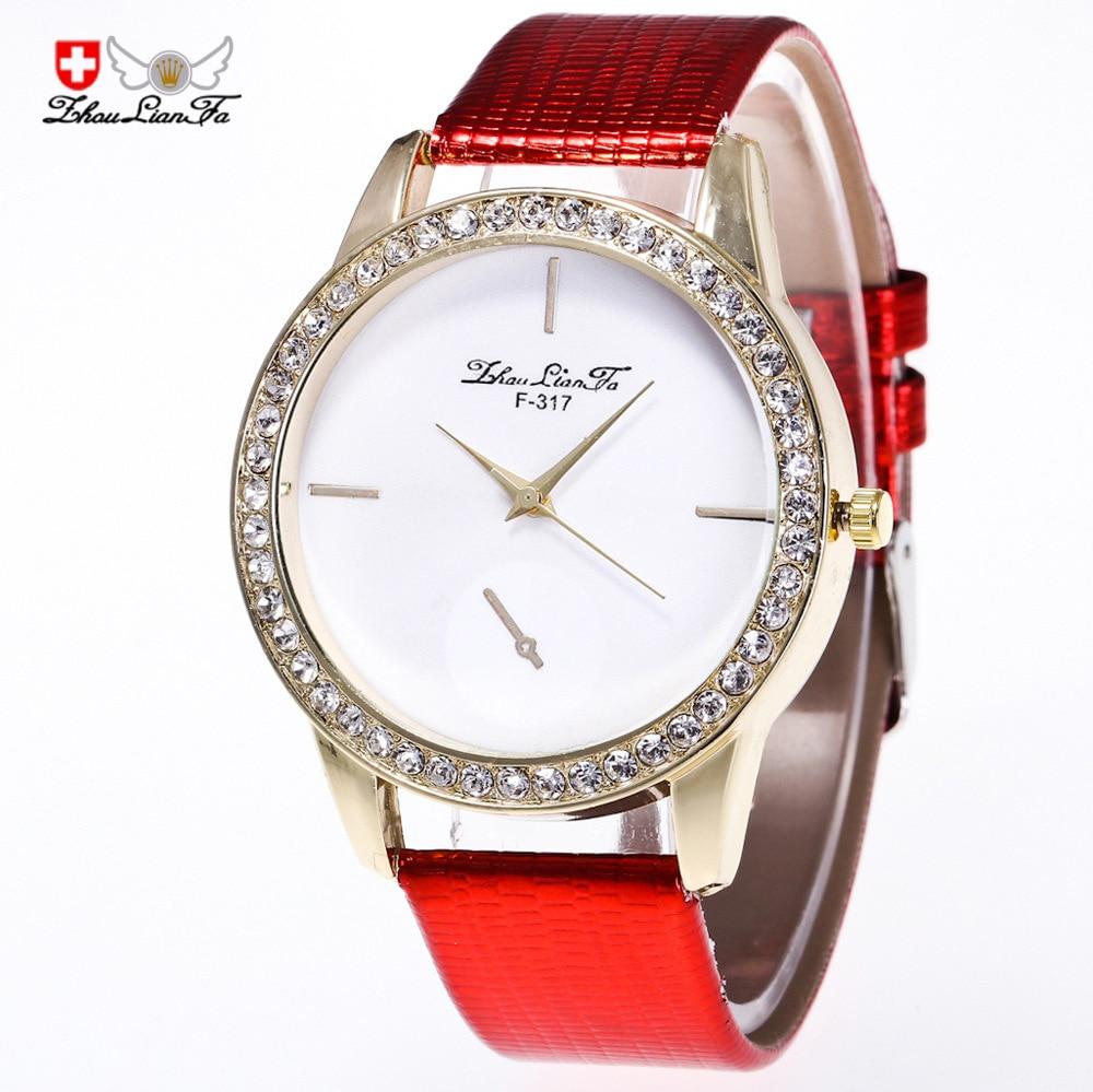 Vintage Couple 20mm Crocodile Red Leather Strap Simple Scale Gold Diamond Alloy Dials Men Luxury Quartz Watch Wristwatch Mens C2 crocodile crocodile cr367r black gold