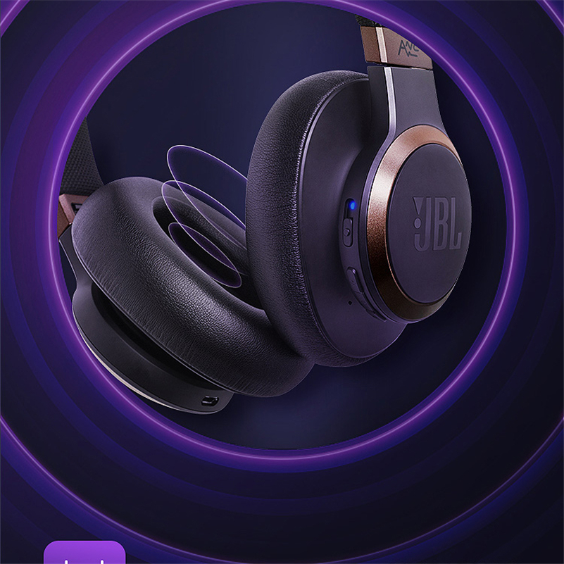 JBL Live 650BT NC Wireless Bluetooth Stereo Headphone Auriculares Headset Celular Fone Ouvido Jbl Earbuds hands free headphone in Phone Earphones Headphones from Consumer Electronics
