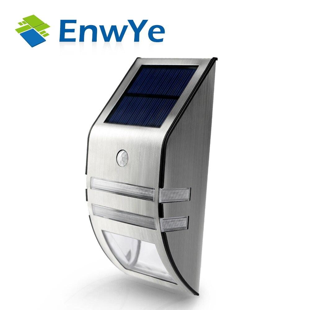 Solar Lamps Outdoor Ip65 Waterproof Garden Path Lamp Light Ed Auto Motion Sensor Energy Saving Sense
