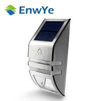 Enwye الشمسية مصباح ip65 للماء حديقة مسار الضوء إنقاذ مصباح ضوء استشعار الحركة الشمسية بدعم السيارات تحسس الضوء