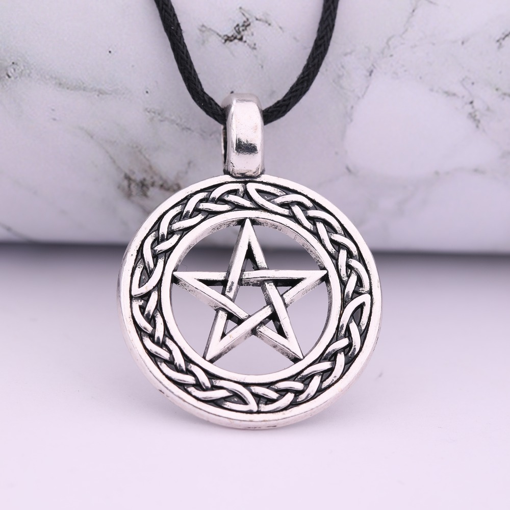 Jewelry & Accessories The Cheapest Price Eueavan 30pcs Star Of David Symbol Pendant Necklace Round Shape Seal Of Solomon Amulet Talisman Jewelry For Men Women Making Things Convenient For The People
