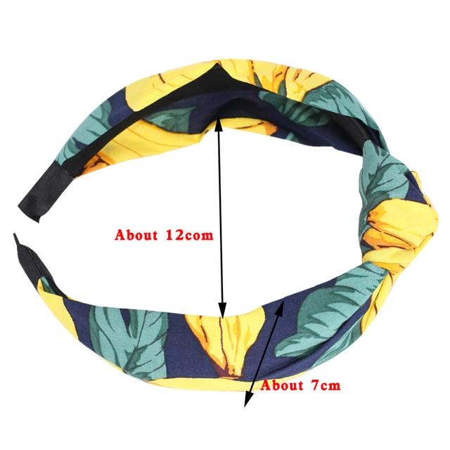 1 PC New Arrival Cloth Hairbands Headbands for Women Cotton Elastic Hairbands Sport Headband for Women Hair Accessories Headwear 5