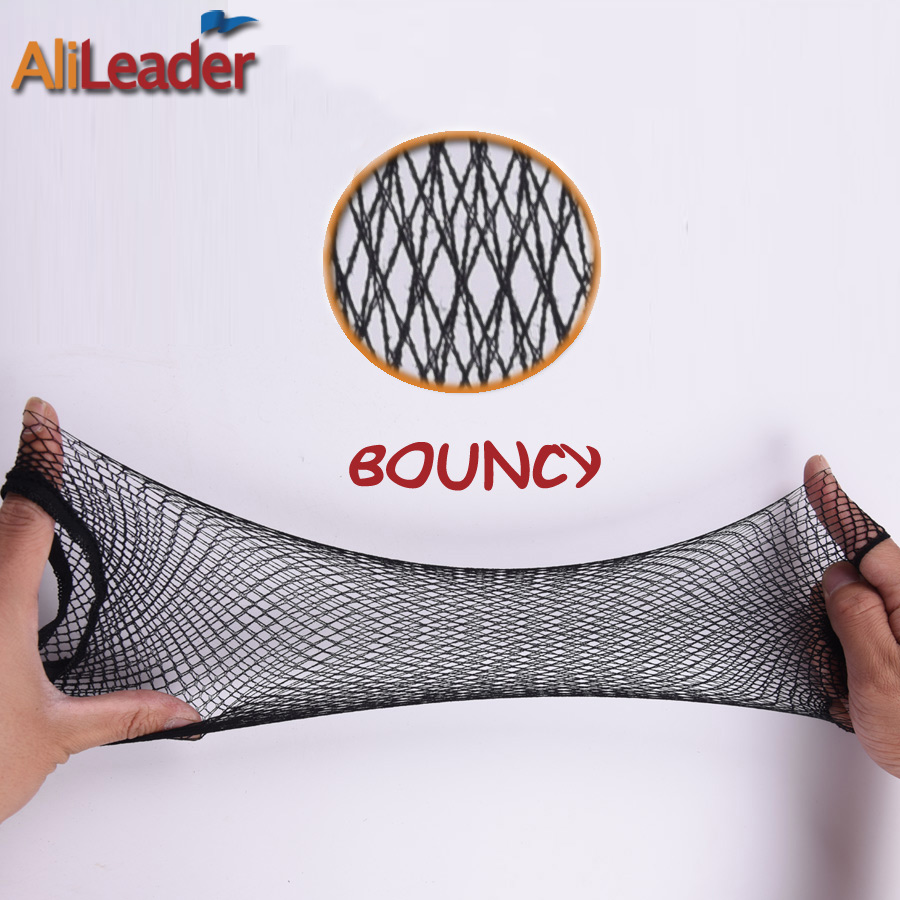 Alileader Beauty Wish Wig 1Pcs-5Pcs New Stretchable Elastic Hair Nets Snood Wig Cap Cool Mesh Cosplay Black Color FishHairnet 2