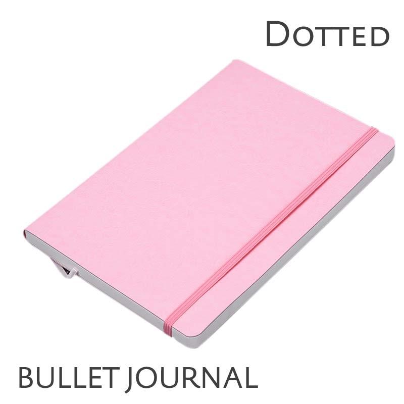 Пунктирная мягкая обложка Candy Color A5 - Блокноты и записные книжки