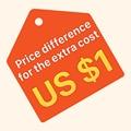 Seicane только за разницу в цене 1 долл. США за дополнительную плату