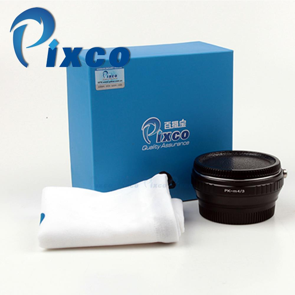 Save $2!!Pixco Focal Reducer Speed Booster Adapter Suit For Pentax PK Lens to Micro 4/3 M4/3 Camera E-M5 E-PL6 E-PL5 E-PM2