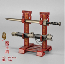 Sword Scabbard Toy The Kings of Yue/Qin Sabre Sword Weapon Model Toy 1/6 Scale Action Figure Accessories Ancient Weapon Mode цена и фото