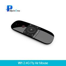 W1 2,4 г Air Мышь Беспроводной клавиатура Инфракрасный пульт ДУ 6 оси Чувство движения w/USB приемник для T Android mi коробка