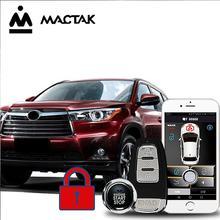 MACTAK Highlander 18 car accessories Keyless Entry Comfort System PKE Phone APP Remote Start Car Engine Alarm Push  963