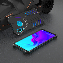 Luxury Metal Case For Huawei Nova 4 Back Cover Nova4 Batman Element Hard Protector Shockproof Phone