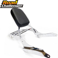 Rear Luggage Rack Support Backrest Sissy Bar Passenger Seat Backrest for 1999 2007 Honda Steed VLX VT 600 VT600 2006