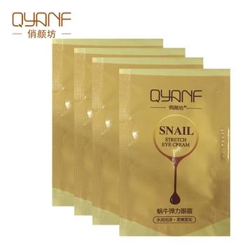 QYANF Snail Essence Anti Wrinkle Eye Cream Ageless Whitening Eye Dark Circles To