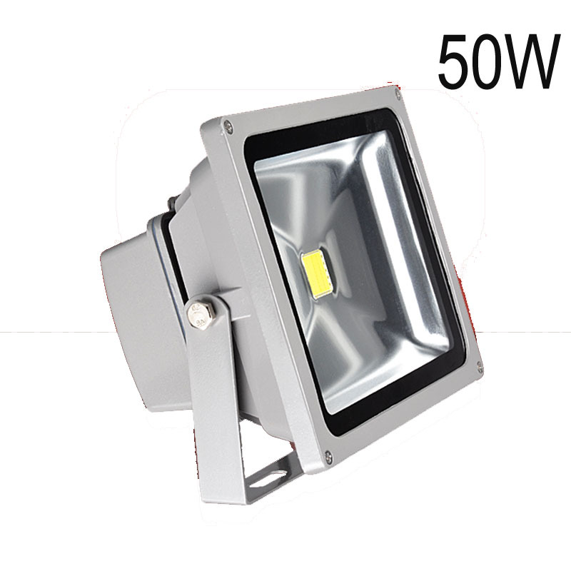 Retail Outdoor 50W RGB Waterproof IP65 AC85-265V led Floodlight Landscape Lamp