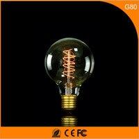 50Pcs 40W Vintage Design Edison Filament B22 E27 LED Bulb,G80 Energy Saving Decoration Lamp Replace Incandescent Light AC220V