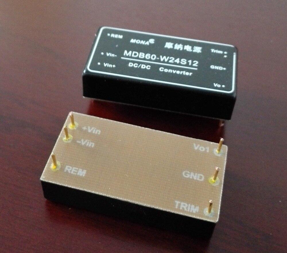 Купить с кэшбэком Power module MDB60-W24S12 switching power filter custom power supply