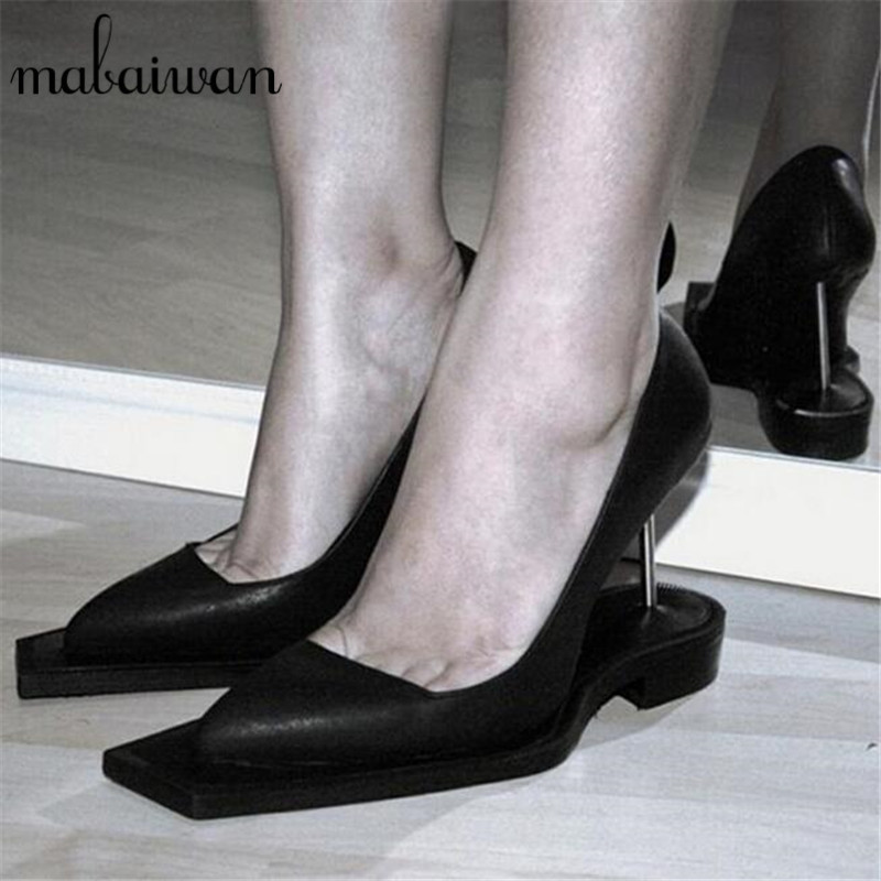 Fashion Square Toe Women Pumps Sexy Black Ladies Designer High Heels Wedding Dress Shoes Woman Valentine Shoe Wedges батут unix line 14 ft outside green