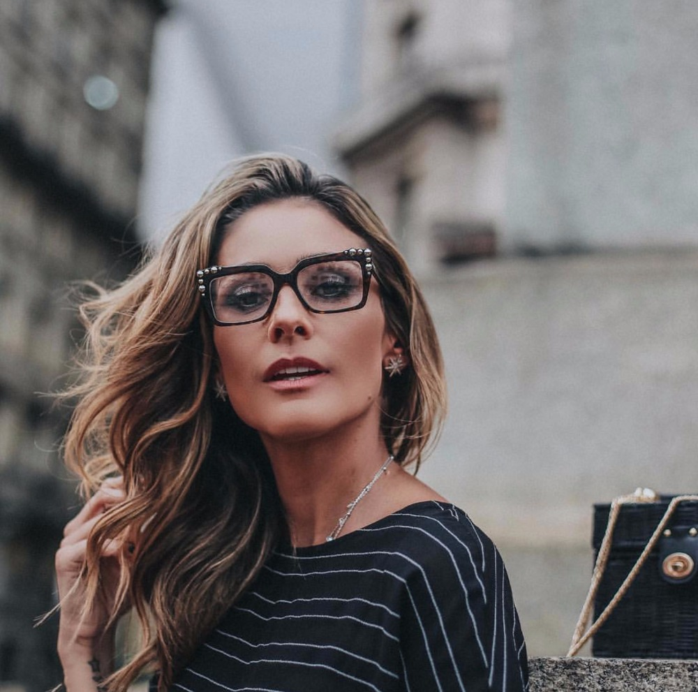 d6cee27274 2019 New High Quality Square Eyewear Frames Women Cat Eye Clear Lens ...